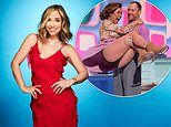 Myleene Klass insists she has 'worked too hard to quit' Dancing On Ice after knee injury