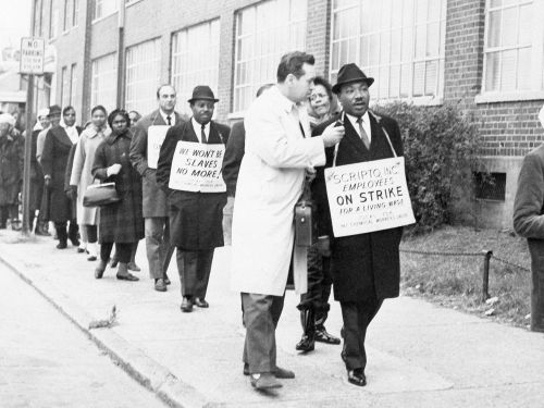 Martin Luther King Jr. was as vocal about union power as he was about racial injustice - but no one remembers it