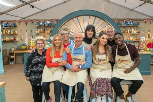 Who's in the line-up of Celebrity Bake Off tonight in the last show of the season?