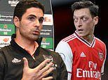 Arteta insists Ozil's omission from his Premier League and Europa squads was a 'football decision'