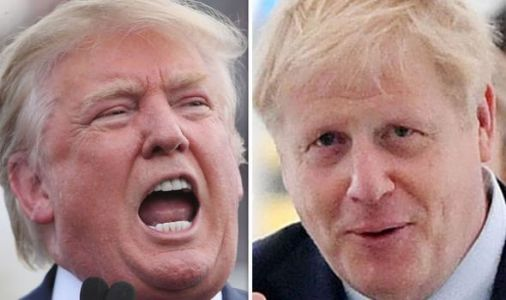 See EU later! Boris Johnson ready to snub EU for US trade talks in shock move