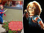 Four-year-old girl who insisted on wearing CHUCKY costume to dinner leaves customers TERRIFIED