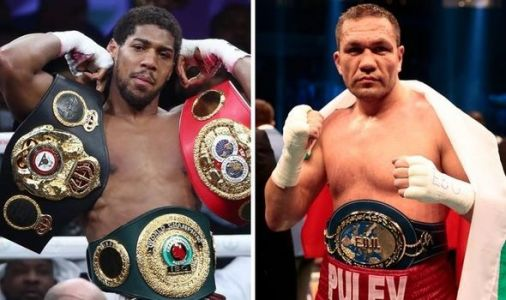 Anthony Joshua set for Kubrat Pulev battle as Eddie Hearn confirms December O2 fight plan