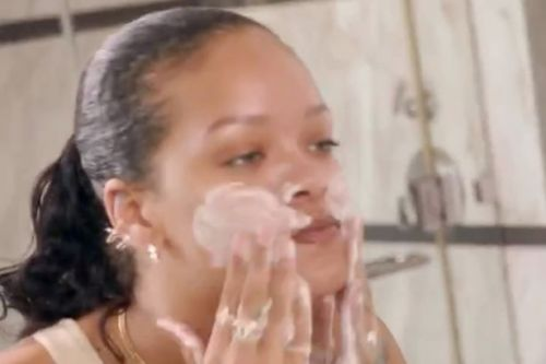 Rihanna thrills fans by shock announcing release of skin care brand, Fenty Skin