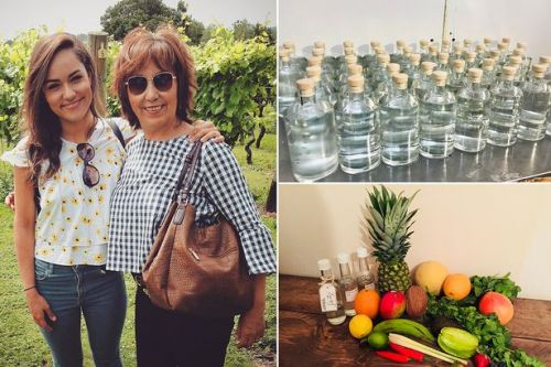 Woman quits job after creating a new drink in her kitchen inspired by her mum