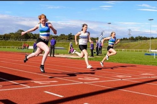 Young Wishaw and Motherwell athletes in fine form despite Covid set-backs