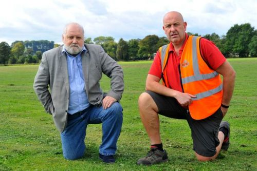 """Dumfries football park """"vandalised"""" by horse riders who allowed their animals to trot over pitches"""
