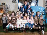 Nursery has NINE sets of twins enrolled at the same time
