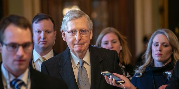 Deal on $2 trillion coronavirus stimulus package reached between the Senate and White House