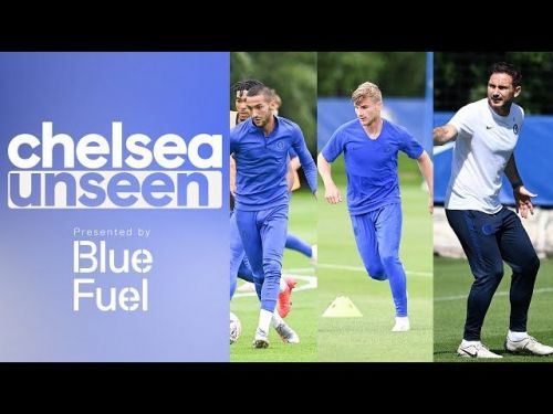 : Tammy takes on Ziyech and Werner in the shooting challenge you've all been waiting for