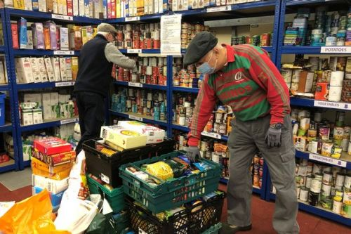 Housebuilder helps those most in need with generous donation to EK food bank