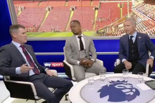 Roy Keane riled by Graeme Souness' Liverpool success comment in Sky Sports studio clash