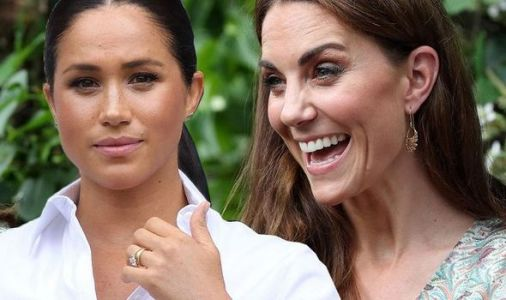 Meghan Markle beaten by Duchess Kate in popularity stakes - shock Royal family poll