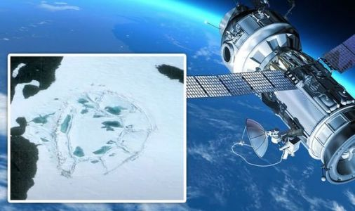 Antarctica bombshell: Satellite snapped 400ft 'manmade' formation in 'untouched' region