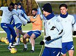 Chelsea players report to training at Cobham just hours after Frank Lampard is sacked
