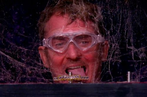 I'm A Celebrity's Shane Richie gags on spider webs as he takes on scary trial