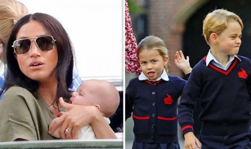 One thing Archie will have to get George and Charlotte will not - 'Must earn his place'