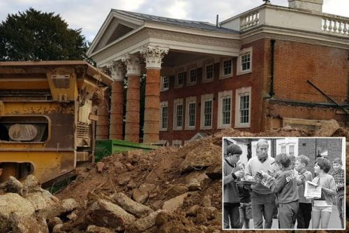 Hotel where England World Cup heroes of 1966 stayed is bulldozered for care home
