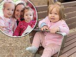 Fifi Box shares photos of daughter Daisy Belle, one, at the park