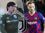 Juventus 'turn attentions to Sandro Tonali' after 'failing to reach agreement for Ivan Rakitic'