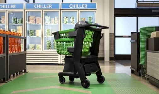 Amazon unveils 'Dash Cart' shopping trolleys that know what customers are buying