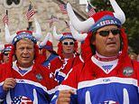 Ryder Cup: Crowd full of beer, Eagles, vikings and 'comedy' boos for the Europeans on opening day