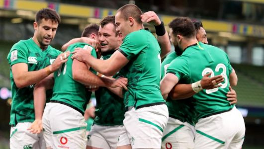 Ireland make one change for Six Nations Super Saturday clash against Frances as Jacob Stockdale and Rob Herring retains places