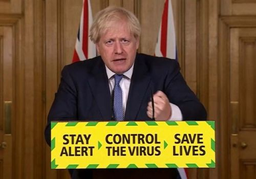 How Boris Johnson's Confusing New Slogan Capped Off 15 Hours Of Lockdown Chaos
