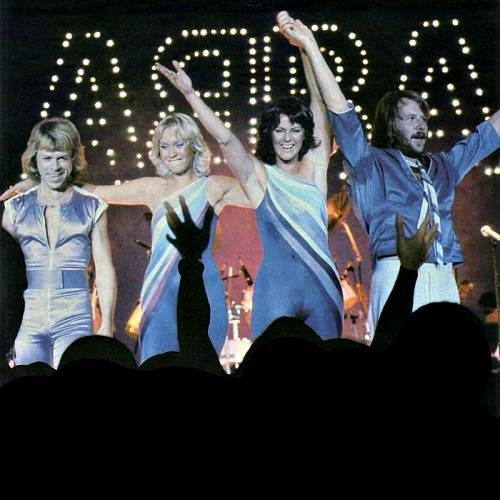 ABBA reunite in London to film for their 2022 hologram tour