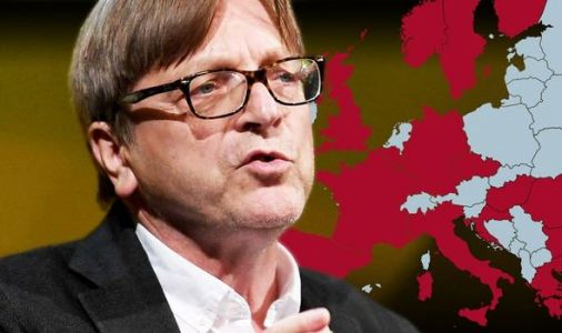 Guy Verhofstadt wants Brussels to seize powers to manage UK's coronavirus response