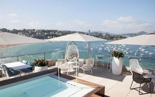 10 of San Sebastián's most romantic hotels, from rooftop pools with bay views to intimate restaurants