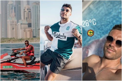 From Ibiza to Dubai - How Liverpool players enjoyed their summer break