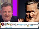 Piers Morgan's Spitting Image puppet leaves Good Morning Britain viewers howling with laughter