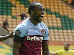Michail Antonio becomes four-goal hero in emphatic victory over Championship-bound Norwich