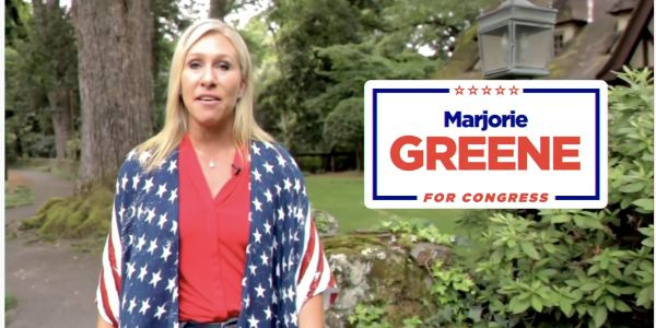 Marjorie Taylor Greene, a Republican congressional candidate endorsed by Trump, claimed there's 'no evidence' a plane crashed into the Pentagon on 9/11