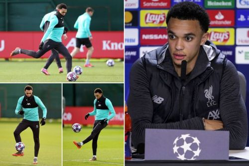 Trent Alexander-Arnold fires warning to Liverpool's rivals ahead of Atletico Madrid clash