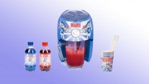 A Slush Puppie maker exists so you can make your own delicious icy drinks