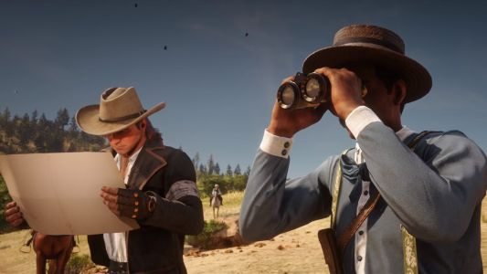Red Dead Online is broken so a bald NPC is following players around