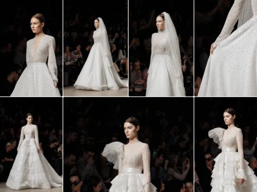 People Are Obsessing Over This Dubai Designer's Latest Bridal Gowns