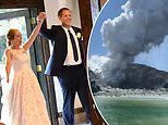 US newlyweds, 32 and 36, on honeymoon in New Zealand suffer severe burns in deadly volcano eruption