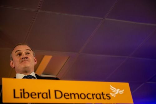 Ed Davey tells Lib Dems to oust 'ugly, ugly' Tories in keynote conference speech