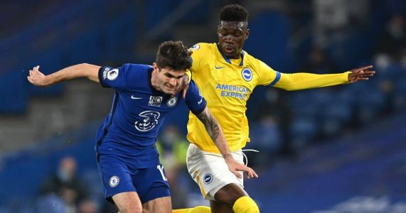 Toothless Chelsea move into top four despite bore draw with Brighton