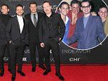 Nick Lachey reunites with boyband 98 Degrees as they lead red carpet arrivals at Miss USA 2018