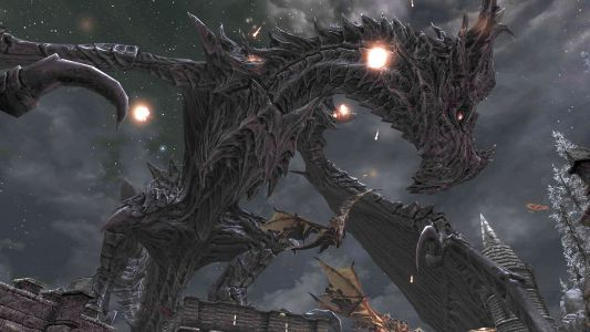 This Skyrim mod adds an apocalypse timer, because Alduin won't wait forever