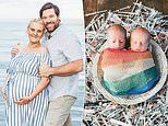 Couple who took out $98k in personal loans in a bid to fund six rounds of IVF welcome miracle twins