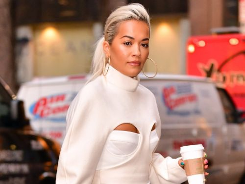 Rita Ora channeled Regina George from 'Mean Girls' and wore a top with 2 holes in it