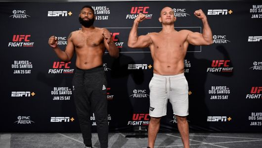 UFC live stream: how to watch Blaydes vs dos Santos at Fight Night 166 online from anywhere