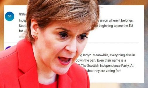 'Independence dream is over!' Sturgeon mocked as poll shows slump in support