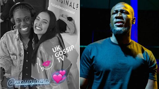 Stormzy's sister hangs with Maya Jama in Paris after he declares 'love' for ex and marriage hopes