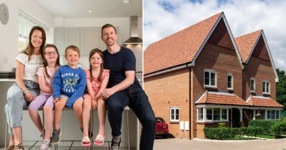 'Our new village home is the best of both worlds - we've finally got a work/life balance'